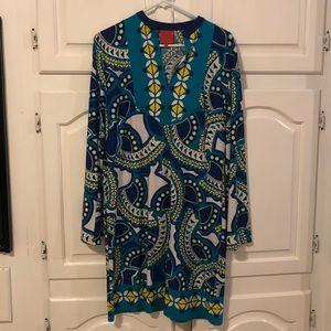 Stretchy Geometric Dress